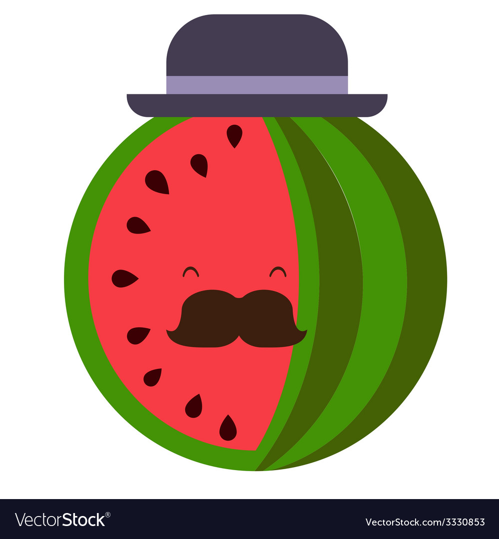 Senior water-melon vector | Price: 1 Credit (USD $1)
