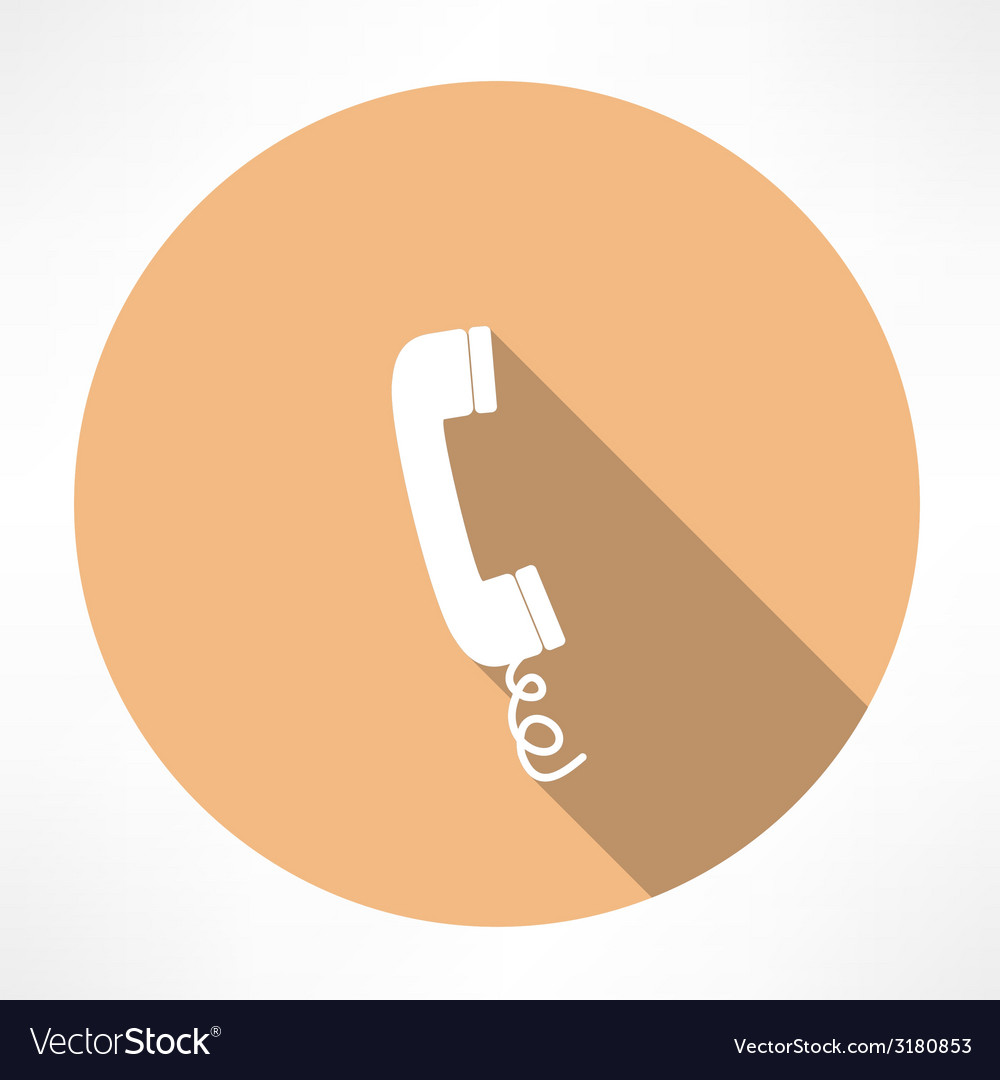 Simple phone icon vector | Price: 1 Credit (USD $1)