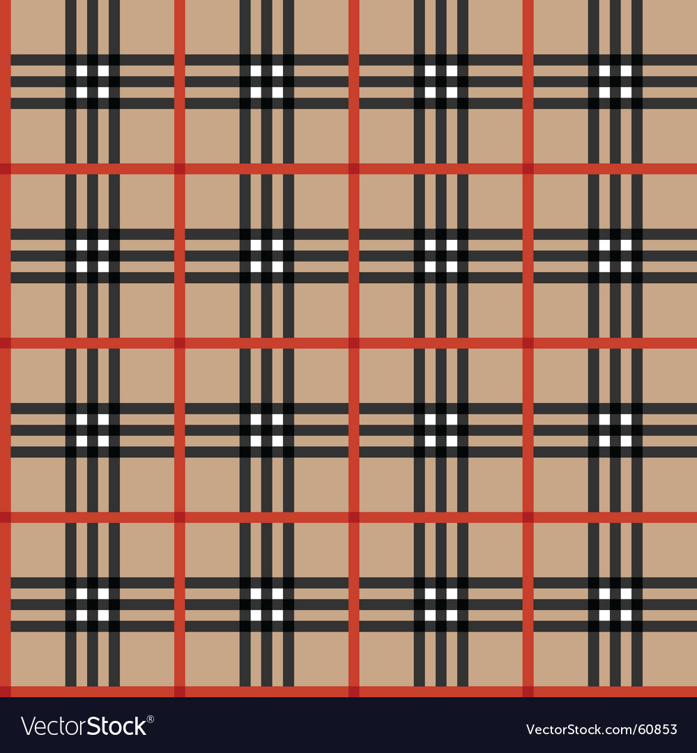 Tartan fabric vector | Price: 1 Credit (USD $1)