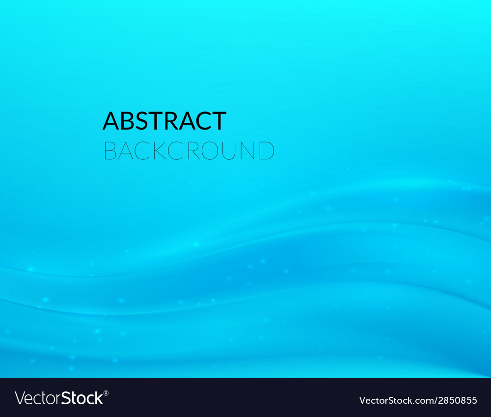 Abstract blue background with smooth lines vector | Price: 1 Credit (USD $1)