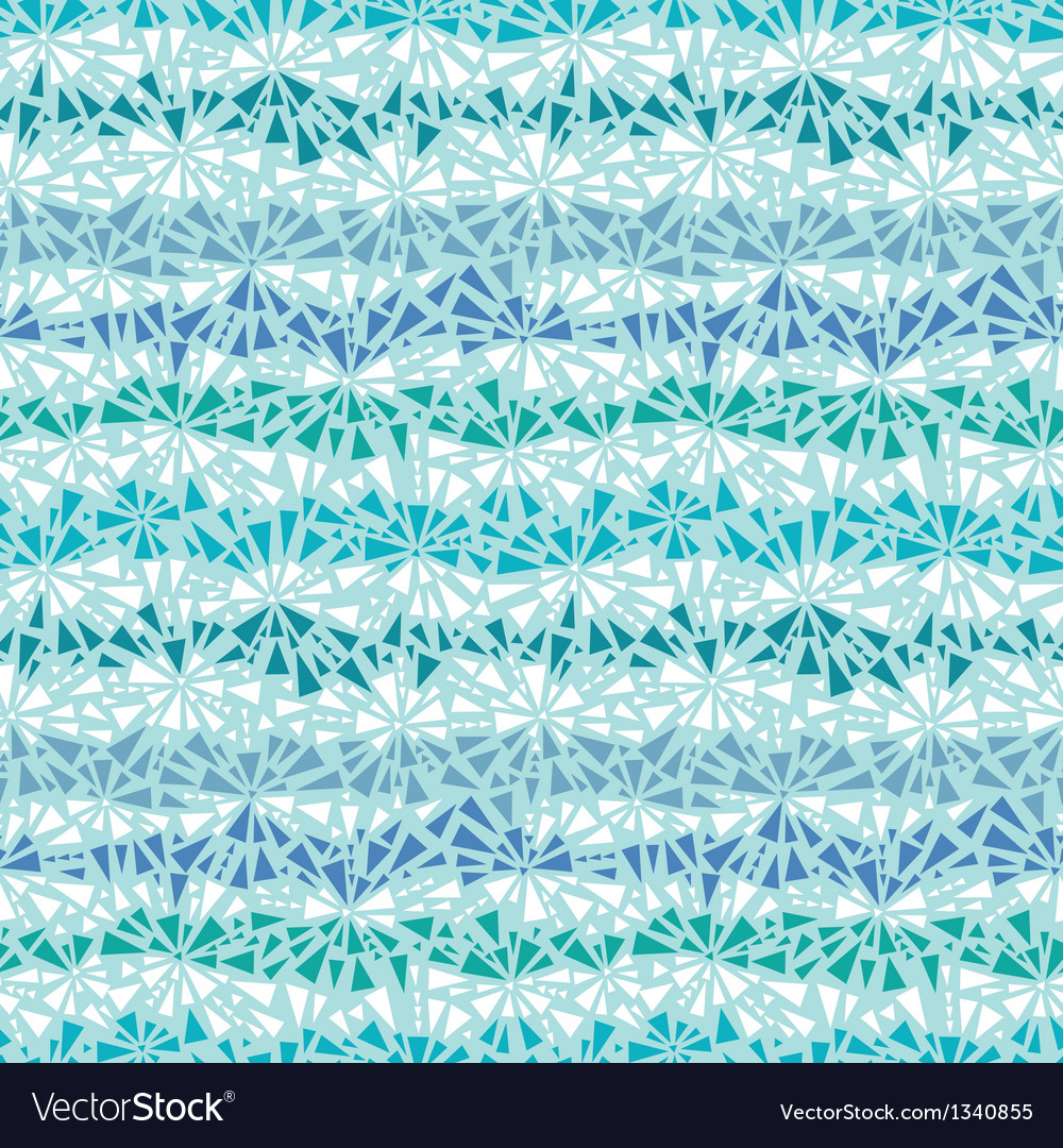 Abstract ice chrystals texture seamless pattern vector | Price: 1 Credit (USD $1)
