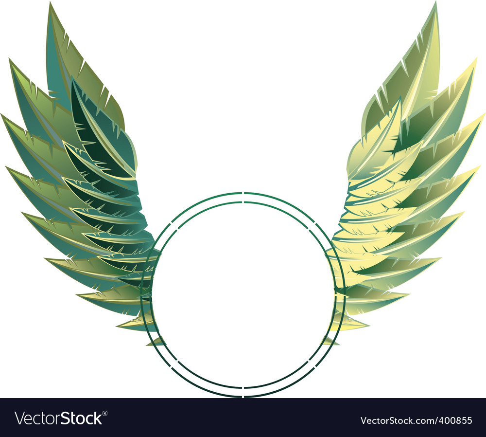 Eagle wings vector | Price: 1 Credit (USD $1)