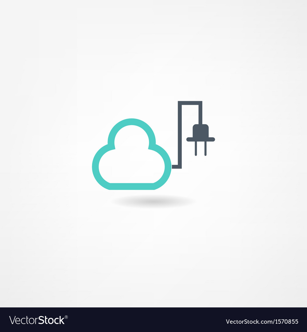 Electricity icon vector | Price: 1 Credit (USD $1)