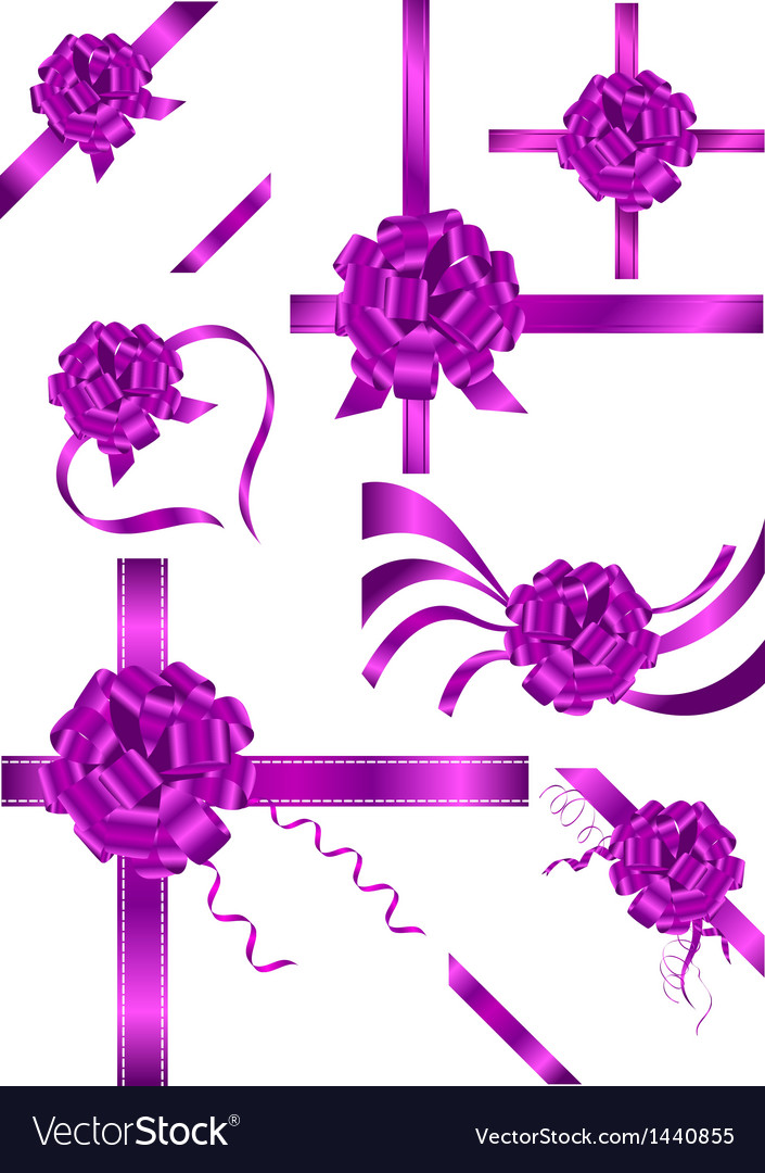 Ribbon and bow vector | Price: 1 Credit (USD $1)