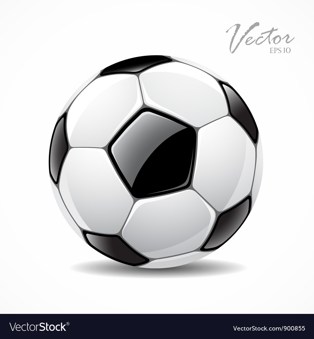 Soccer ball sport football game vector | Price: 3 Credit (USD $3)