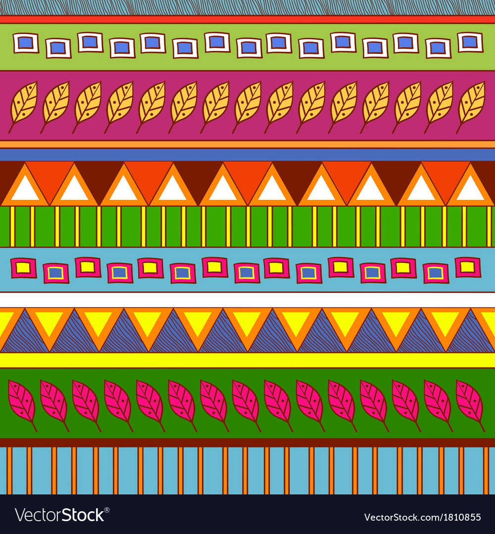 Tribal abstract pattern vector | Price: 1 Credit (USD $1)