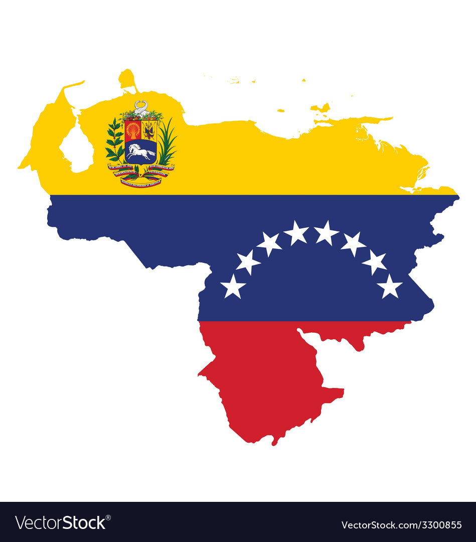 Venezuela flag vector | Price: 1 Credit (USD $1)
