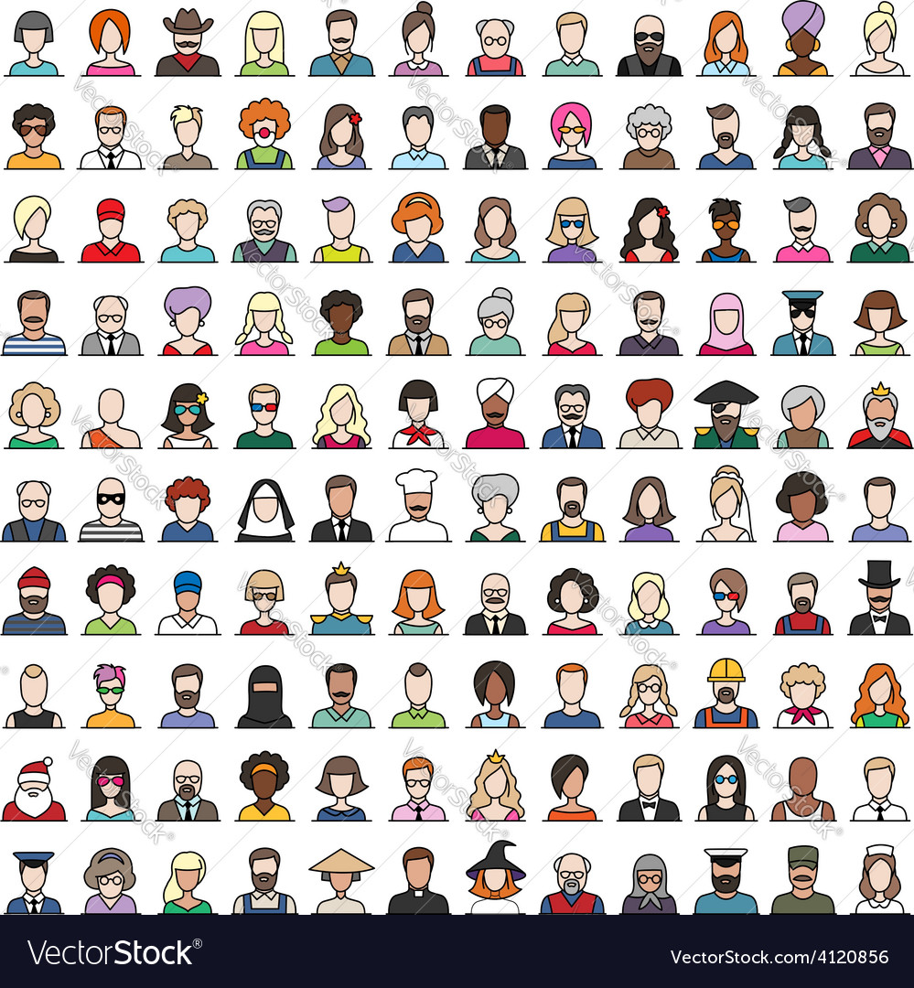 Characters vector | Price: 1 Credit (USD $1)