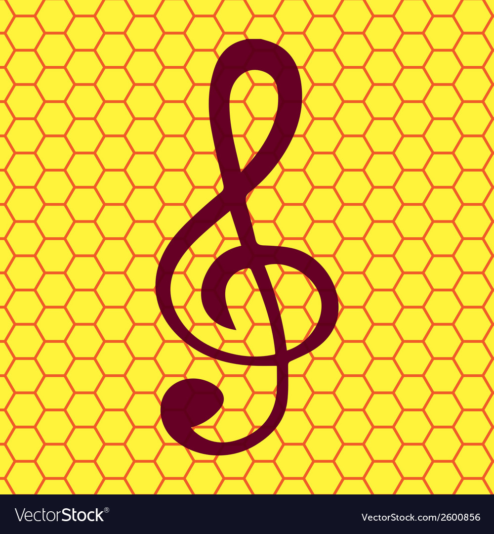 Music elements notes web icon flat design vector | Price: 1 Credit (USD $1)