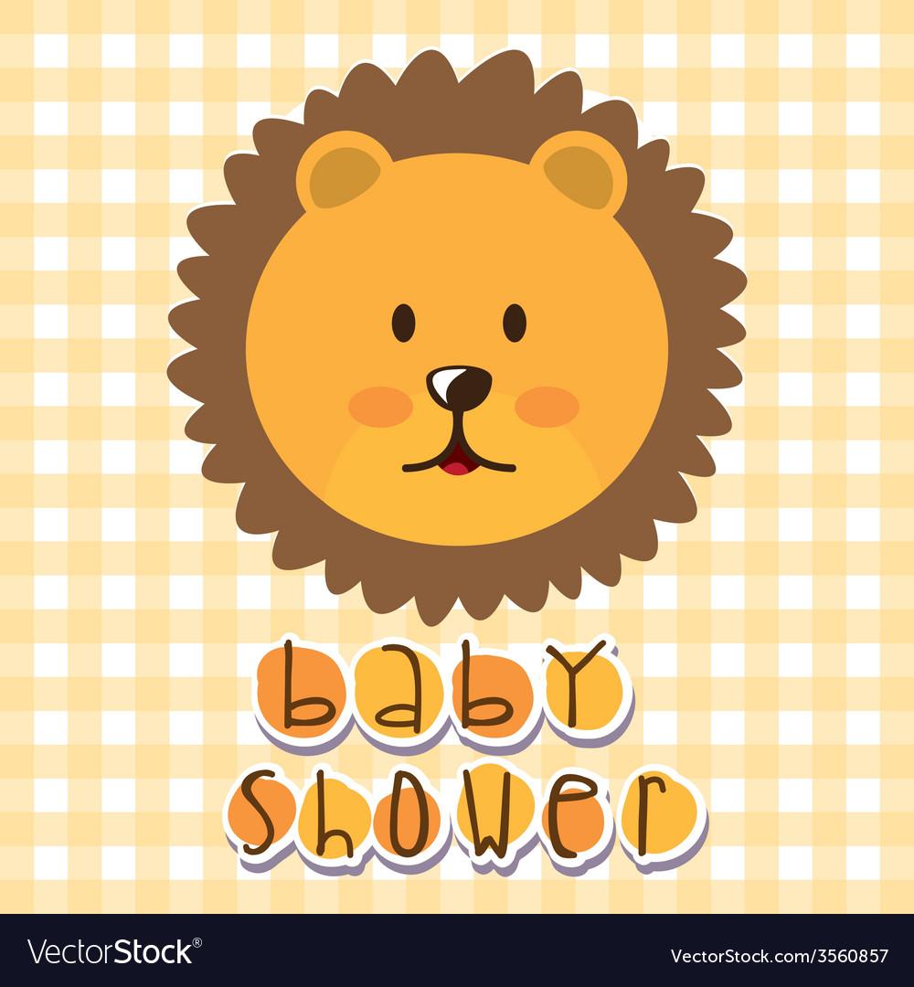 Baby shower vector | Price: 1 Credit (USD $1)