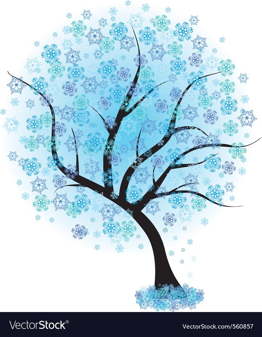 Frozen winter vector | Price: 1 Credit (USD $1)