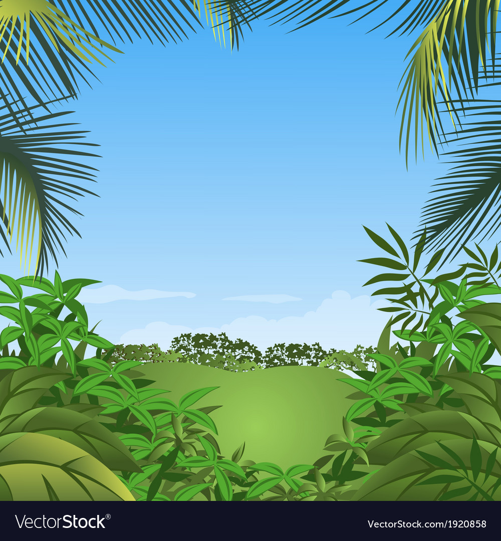 Abstract background with green leaves vector   Price: 1 Credit (USD $1)