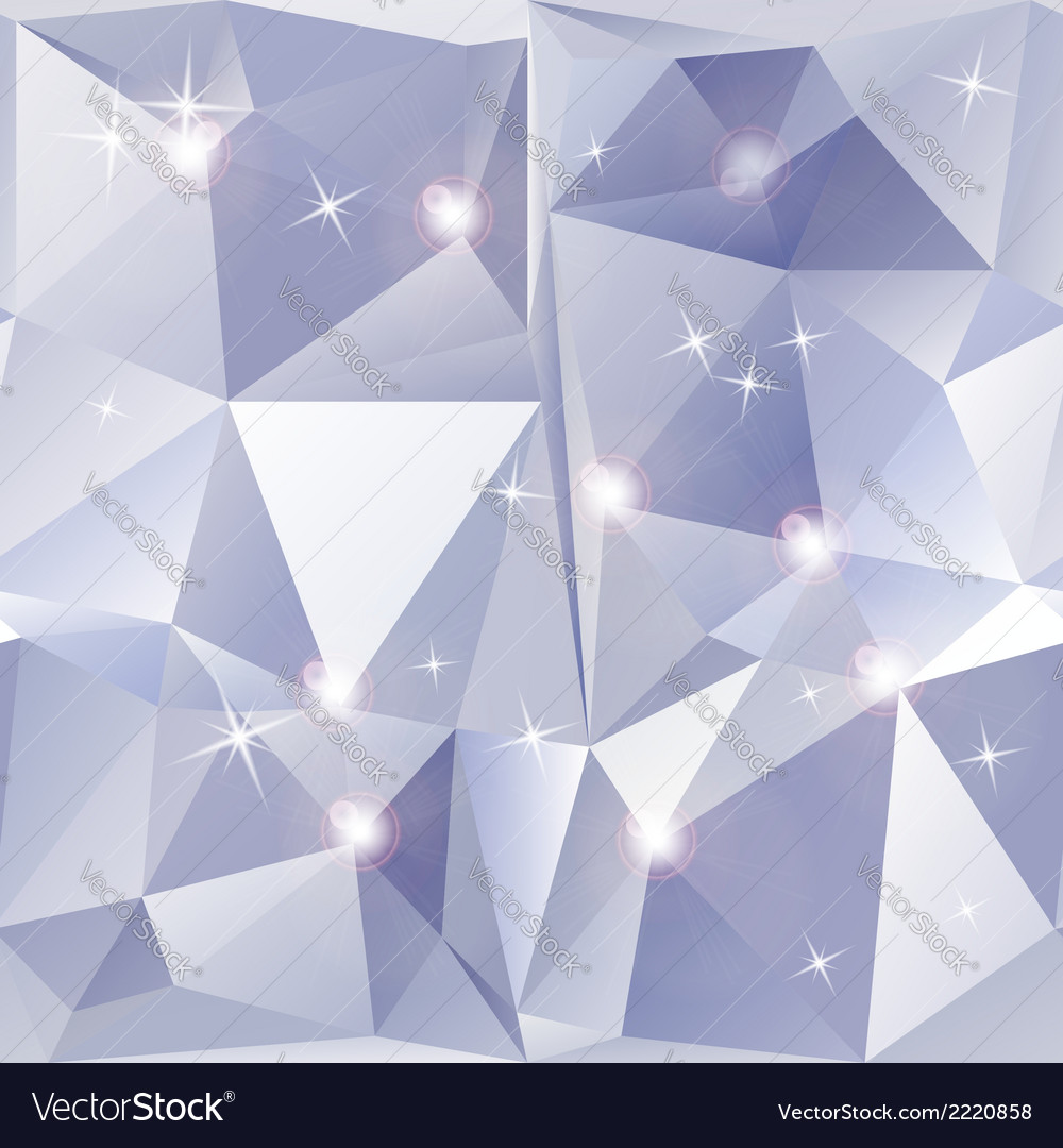 Abstract geometric background of sparkling blue vector | Price: 1 Credit (USD $1)