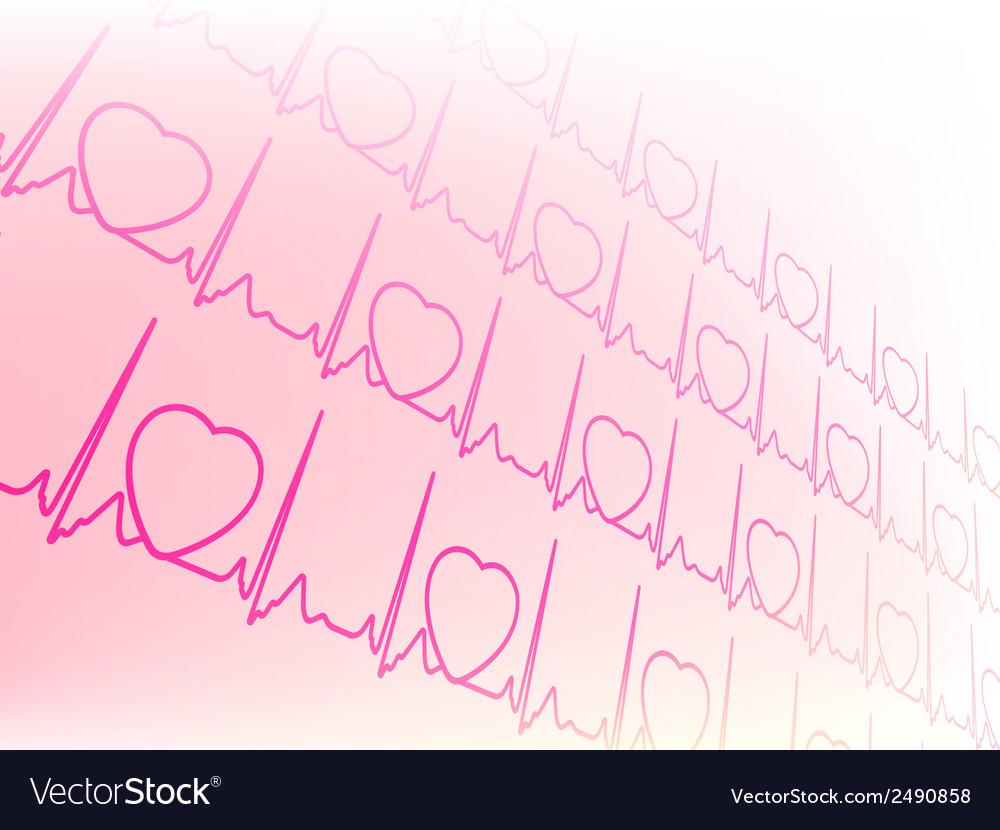 Eectrocardiogram waveform ekg test eps 8 vector   Price: 1 Credit (USD $1)