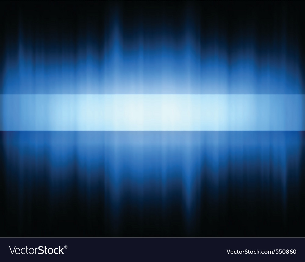 Blue band vector | Price: 1 Credit (USD $1)