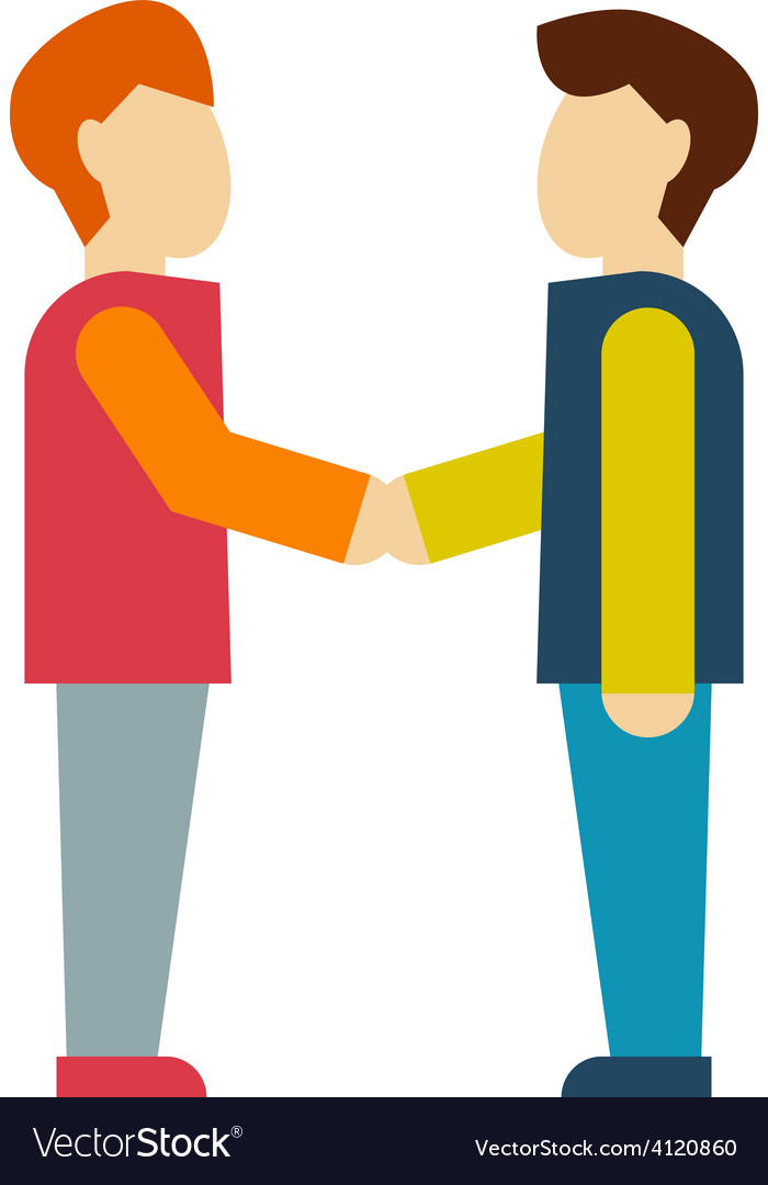 Business shaking hand vector | Price: 1 Credit (USD $1)