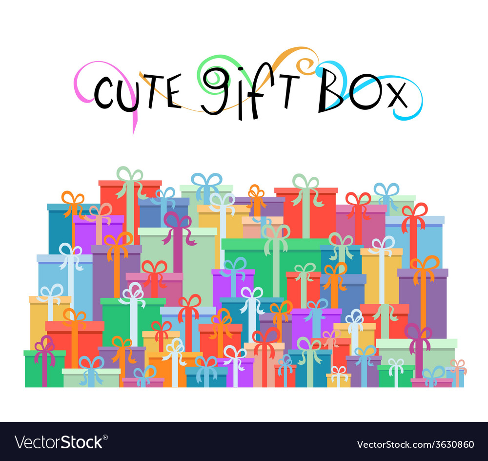 Gift boxes for your promotion design vector | Price: 1 Credit (USD $1)