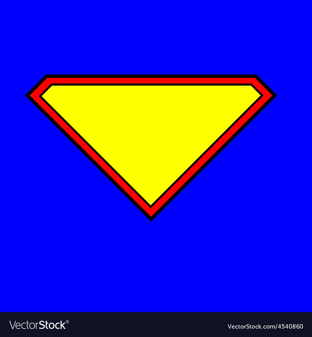 Superman logo vector | Price: 1 Credit (USD $1)