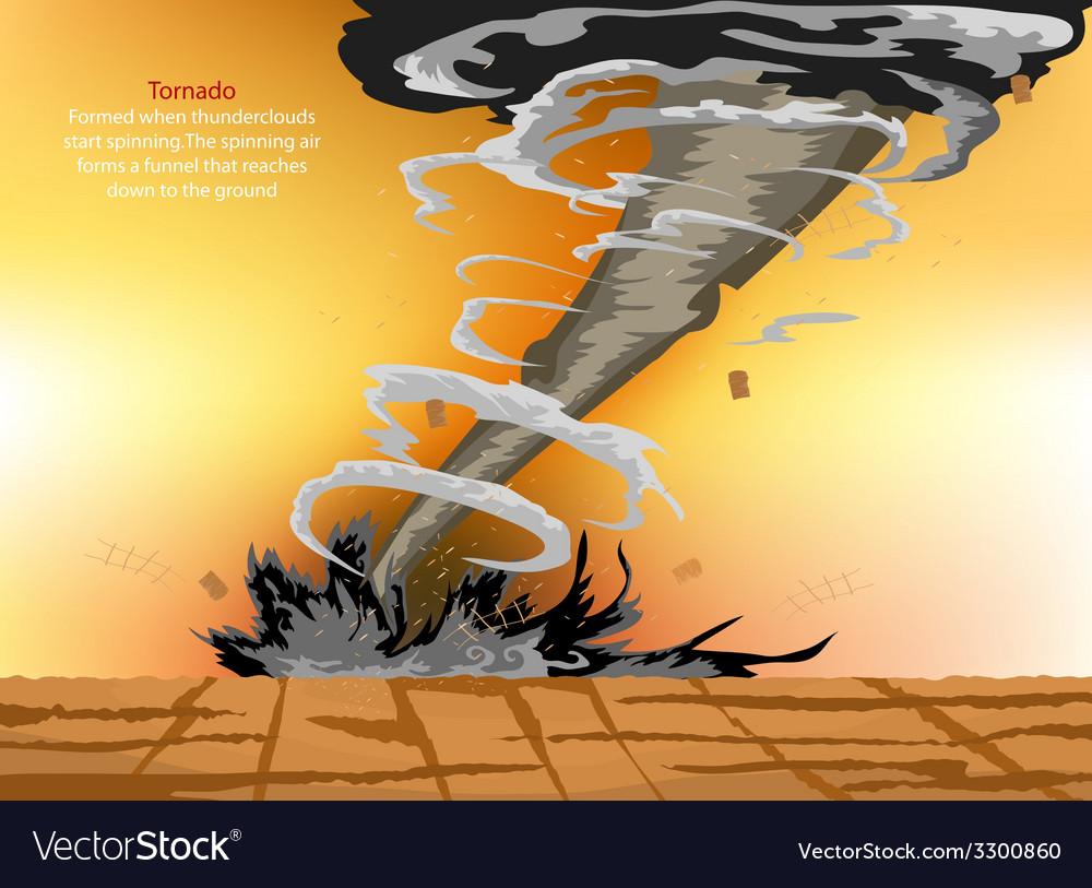 Tornado vector | Price: 1 Credit (USD $1)
