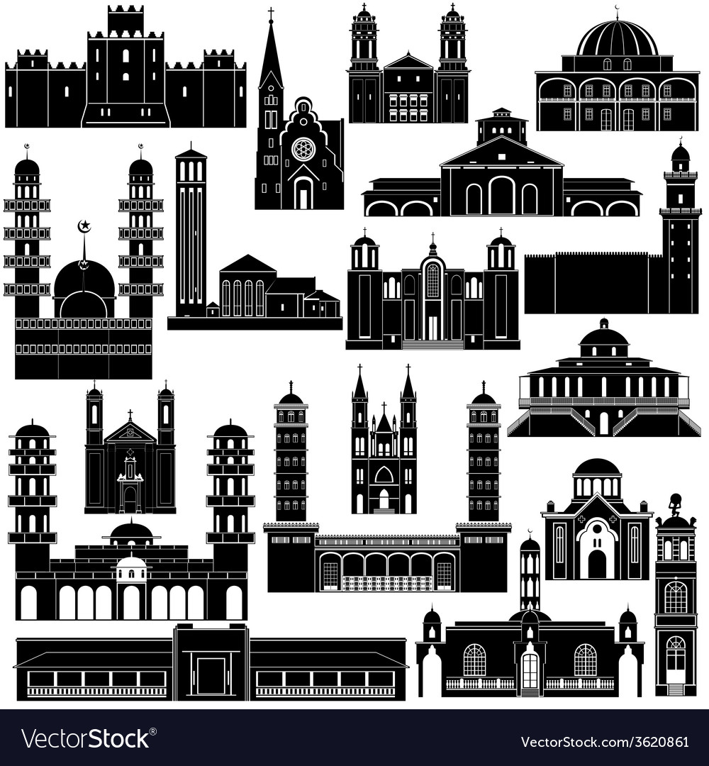 Architecture africa-4 vector | Price: 1 Credit (USD $1)