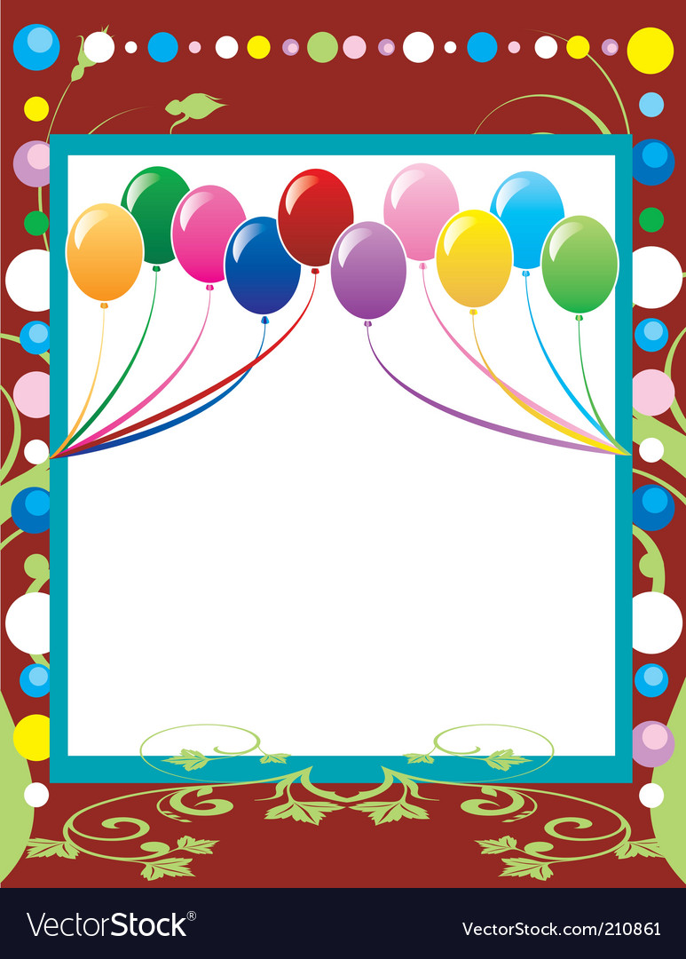 Party template background vector | Price: 1 Credit (USD $1)