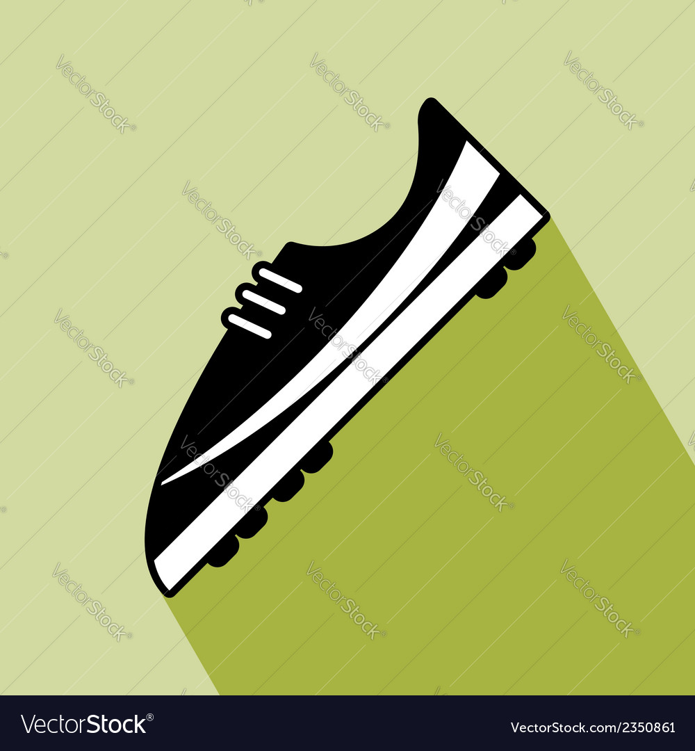 Shoes football icon vector | Price: 1 Credit (USD $1)