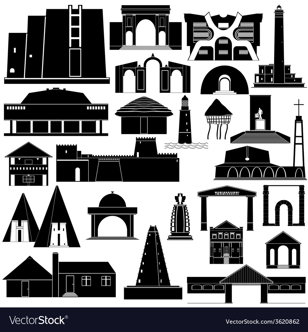 Architecture africa-2 vector | Price: 1 Credit (USD $1)