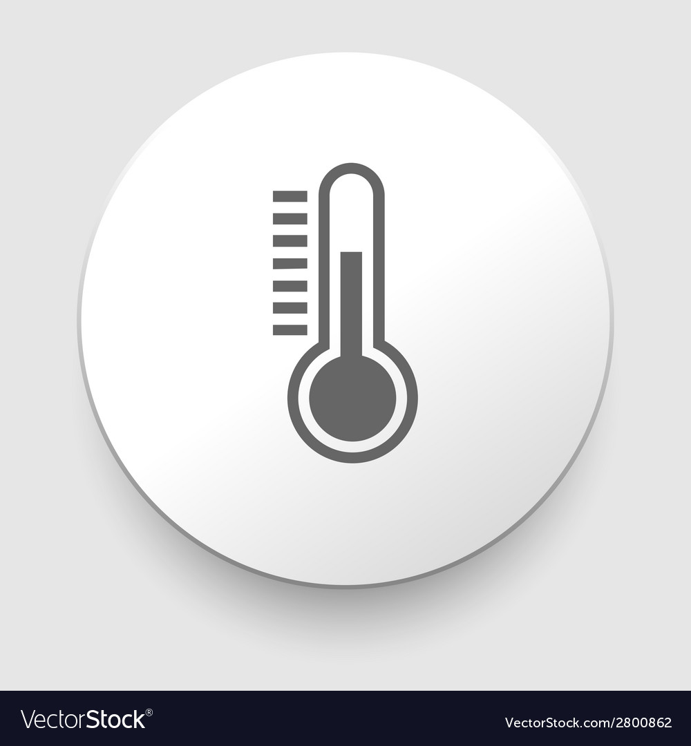 Thermometer icon vector | Price: 1 Credit (USD $1)