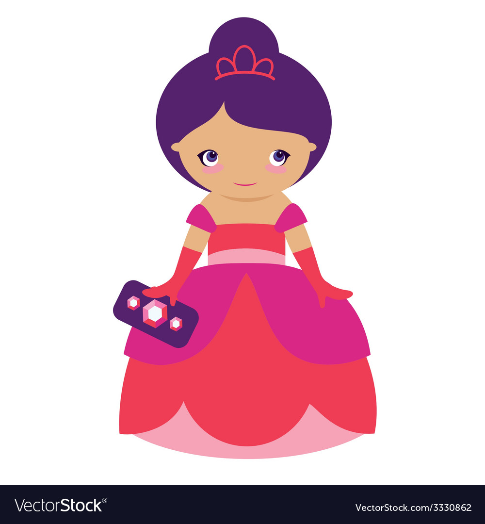 Rose princess vector | Price: 1 Credit (USD $1)