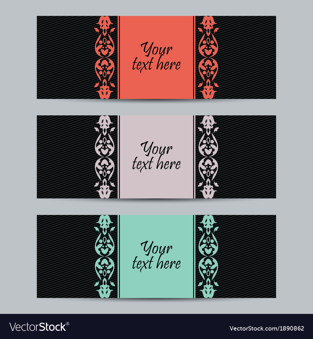 Vintage set labels vector | Price: 1 Credit (USD $1)