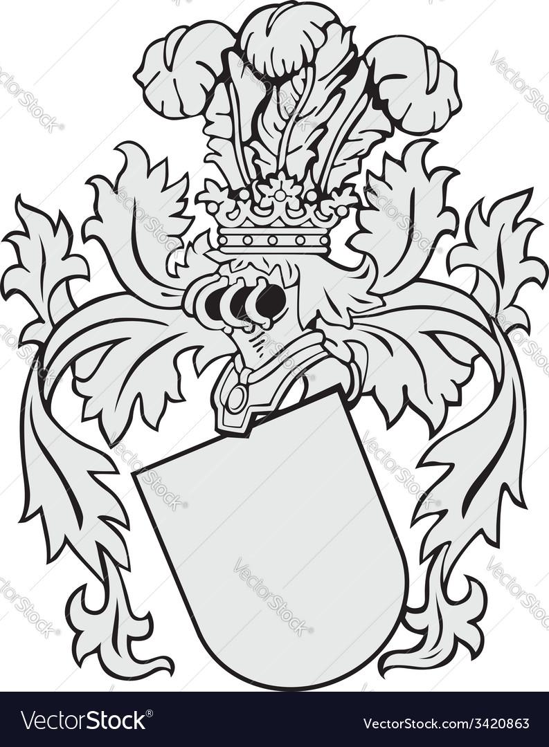 Aristocratic emblem no14 vector | Price: 1 Credit (USD $1)