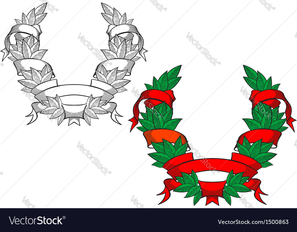 Heraldic coat of arms vector | Price: 1 Credit (USD $1)