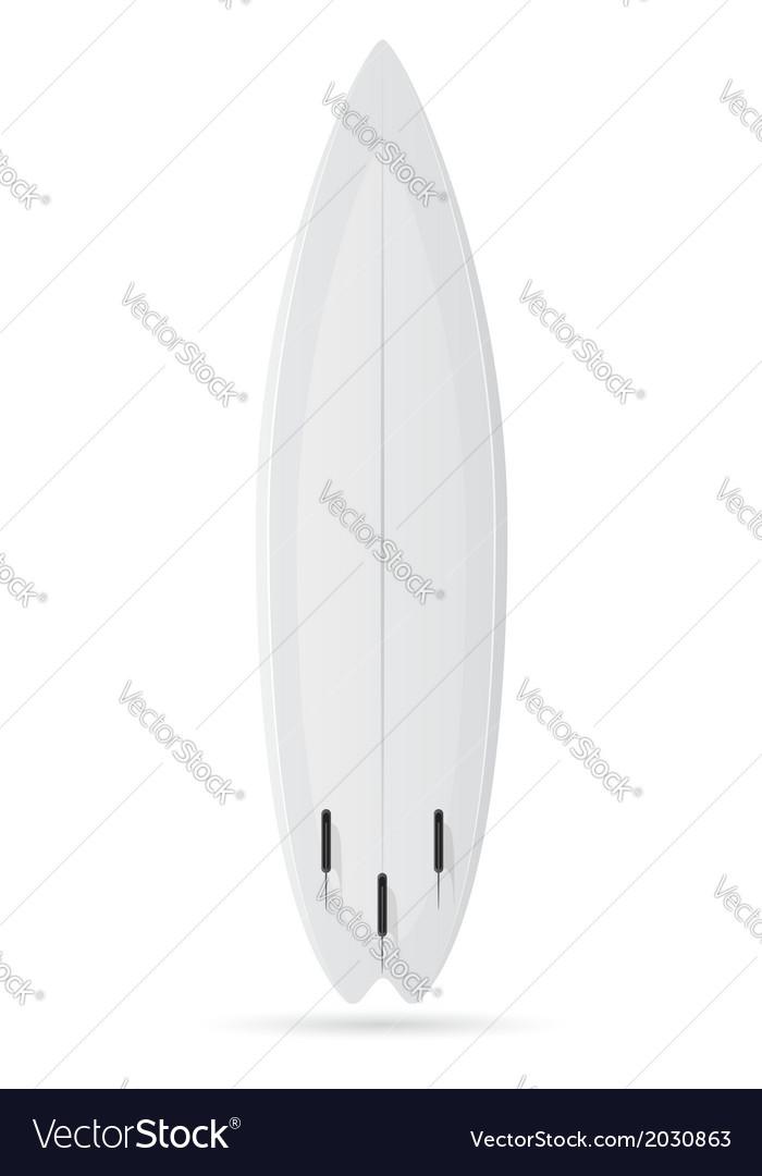 Surfboard 01 vector | Price: 1 Credit (USD $1)