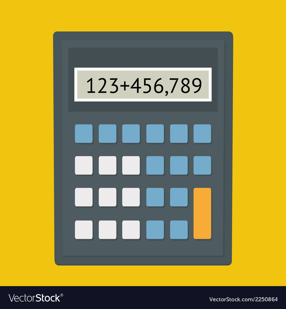 Calculator fla vector | Price: 1 Credit (USD $1)
