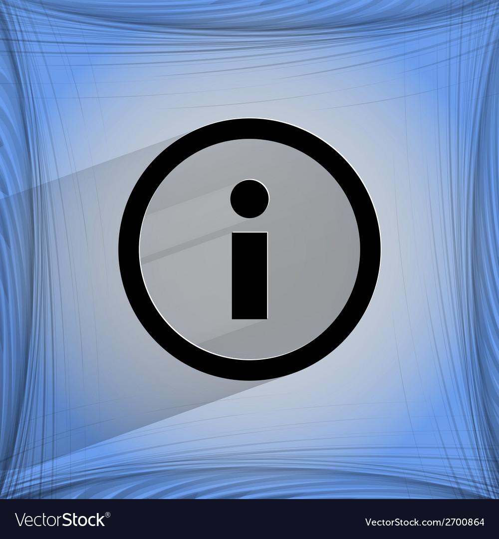 Info flat modern web design on a flat geometric vector | Price: 1 Credit (USD $1)