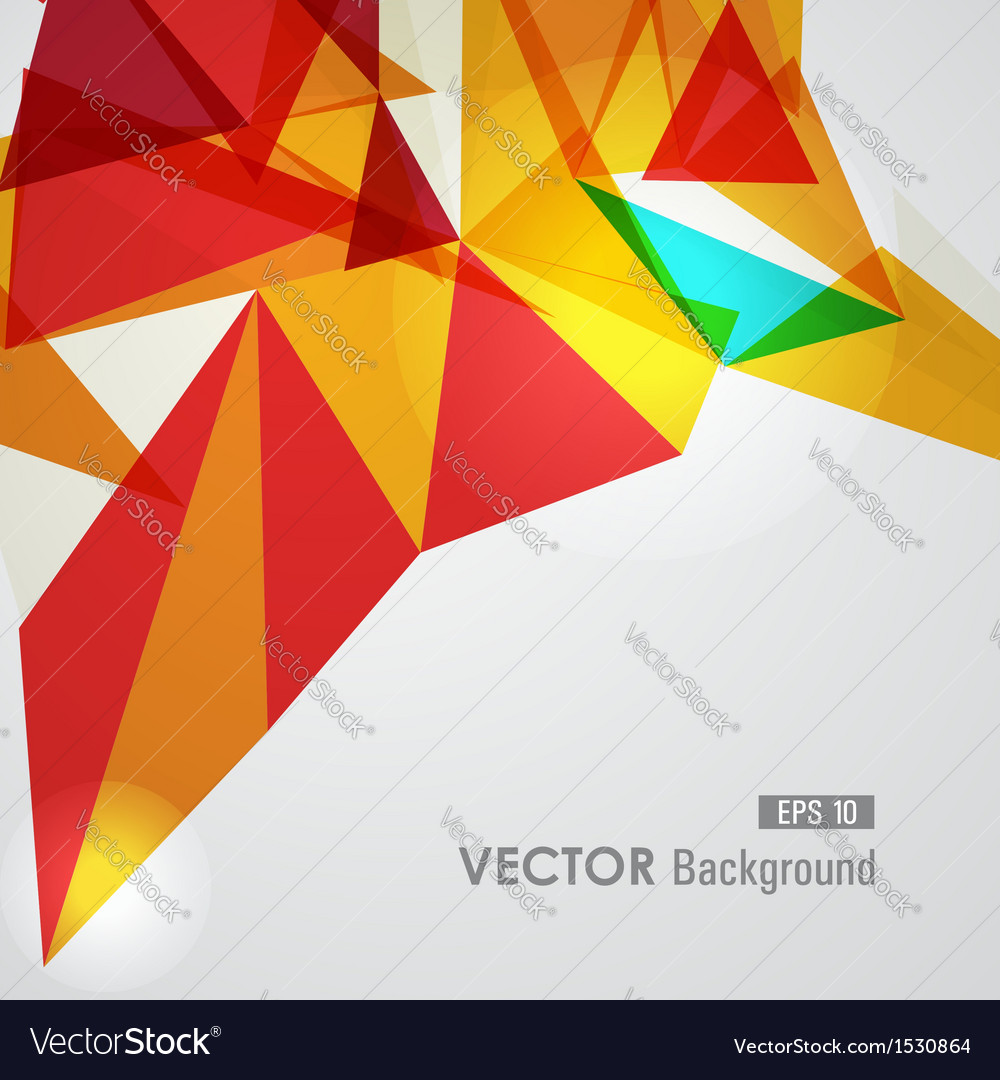 Red and yellow geometric transparency vector | Price: 1 Credit (USD $1)