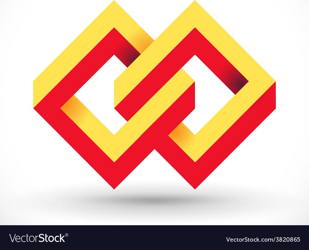 Rectangle loop vector | Price: 1 Credit (USD $1)