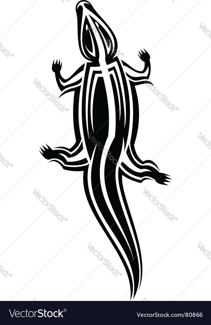 Crocodile mascot vector | Price: 1 Credit (USD $1)