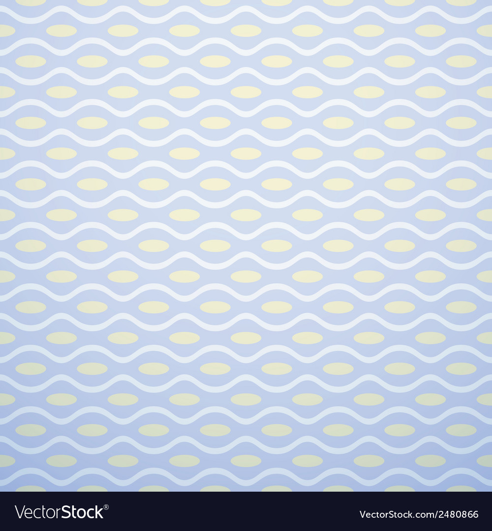 Nice pattern tiling sweet blue and yellow pastel vector | Price: 1 Credit (USD $1)