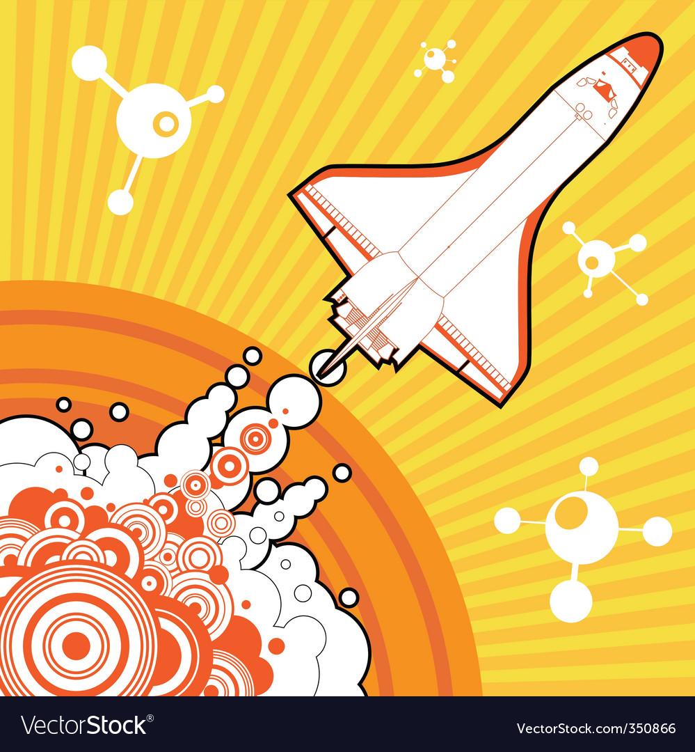 Shuttle design vector | Price: 1 Credit (USD $1)