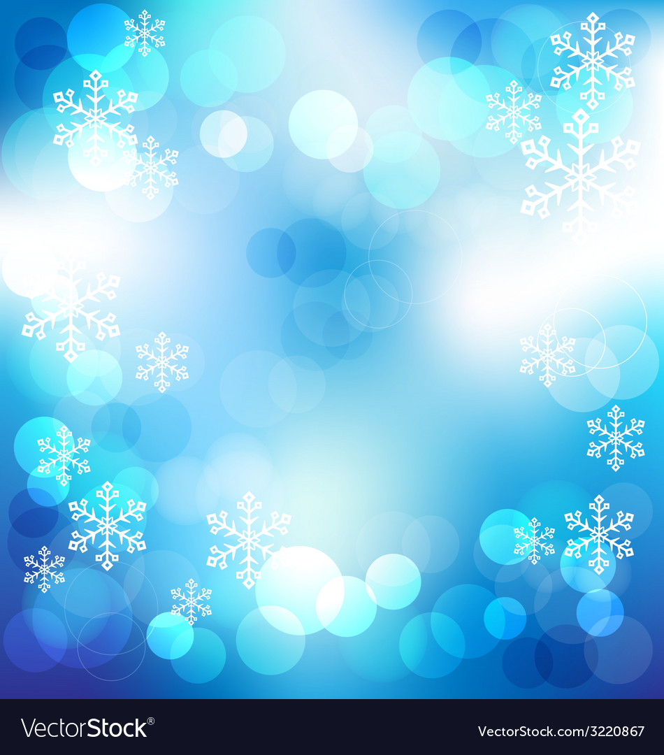 Blue elegant abstract background with bokeh lights vector | Price: 1 Credit (USD $1)