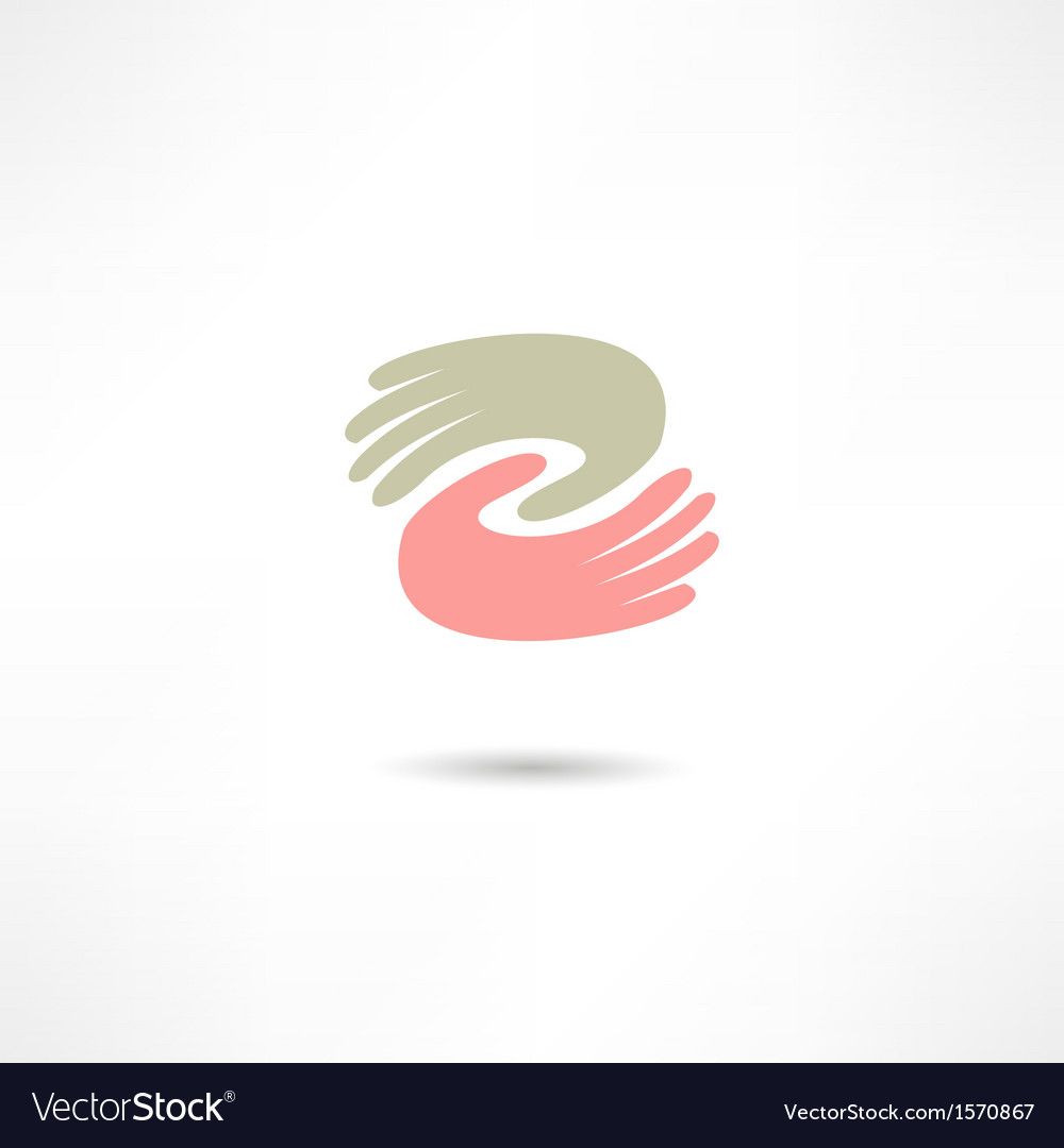 Business icon handshake transaction vector | Price: 1 Credit (USD $1)