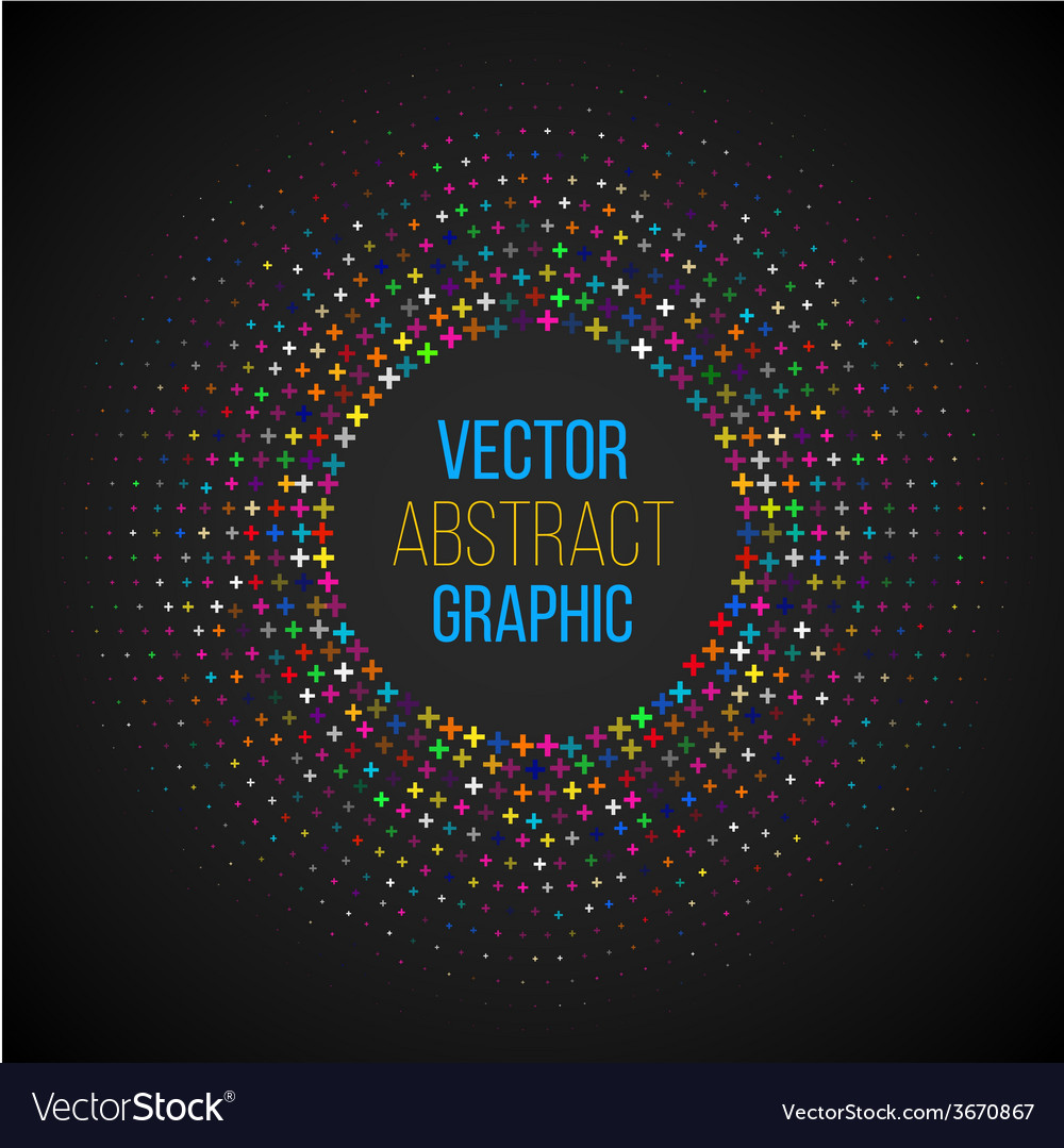 Halftone circle vector | Price: 1 Credit (USD $1)