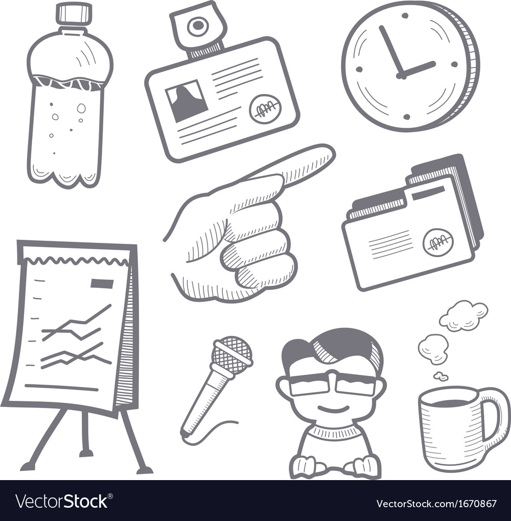 Presentation equipment vector | Price: 1 Credit (USD $1)