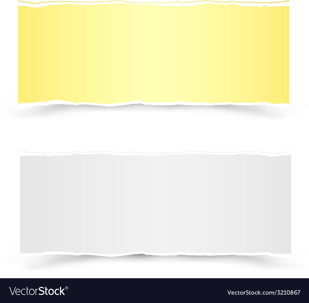 Yellow and white pieces of paper vector   Price: 1 Credit (USD $1)