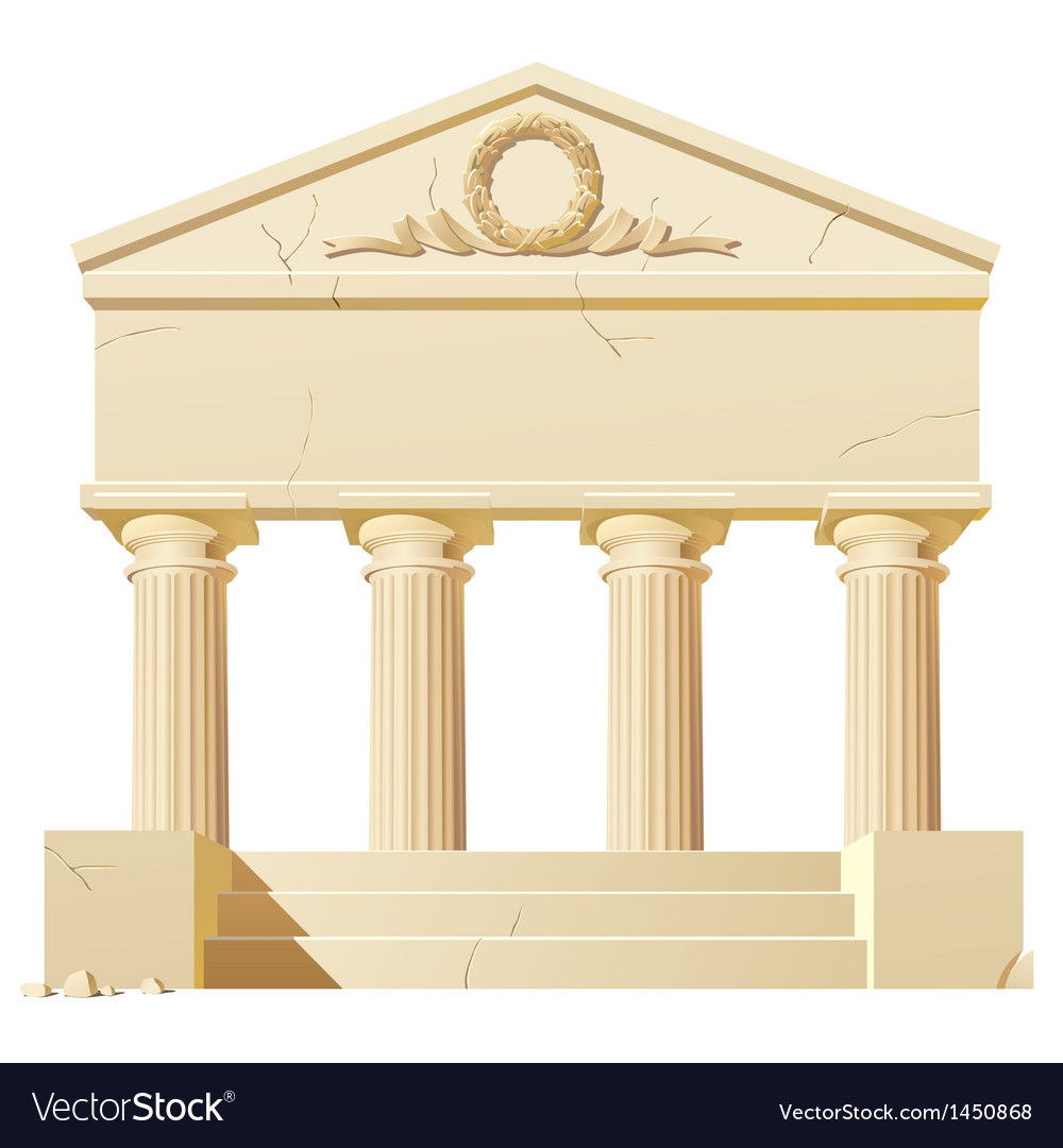 Antique building vector | Price: 1 Credit (USD $1)