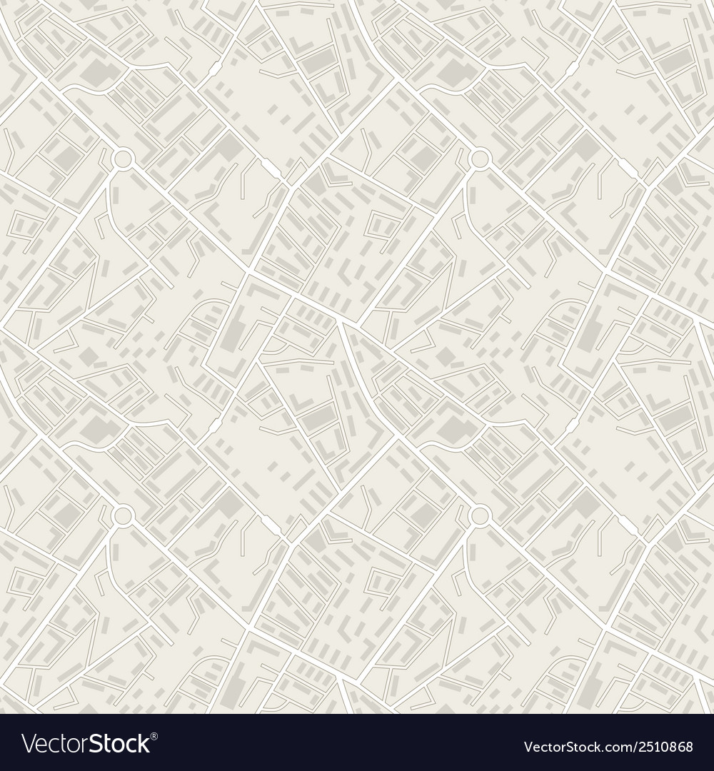 City map abstract seamless pattern background vector | Price: 1 Credit (USD $1)