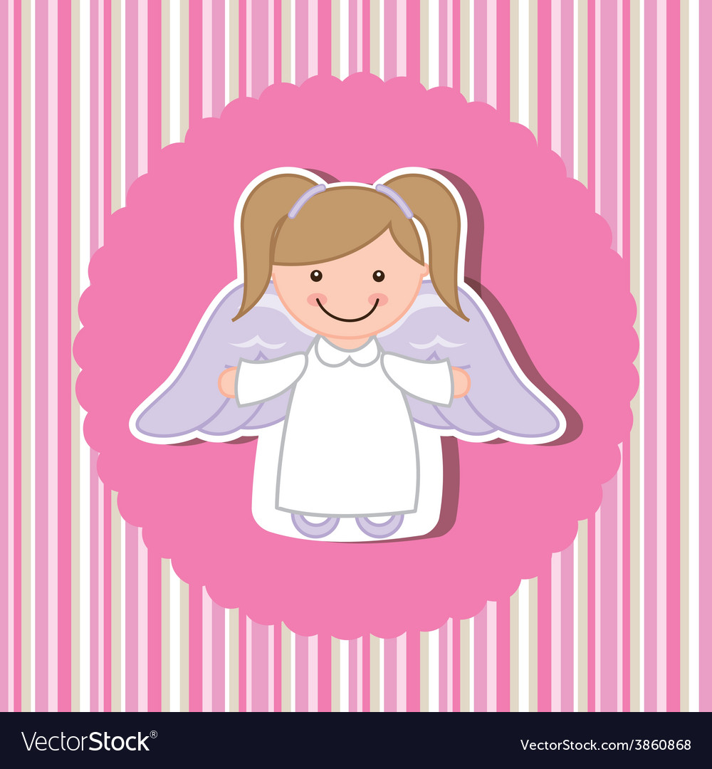 Cute angel vector | Price: 1 Credit (USD $1)