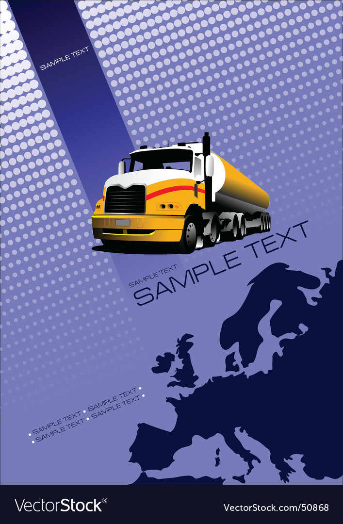 Europe brochure vector | Price: 1 Credit (USD $1)