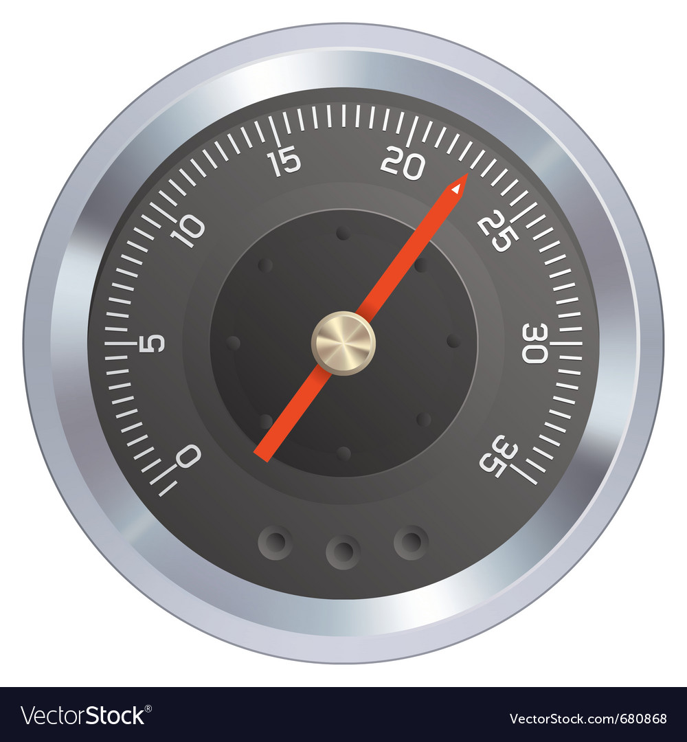 Pressure gauge vector | Price: 1 Credit (USD $1)